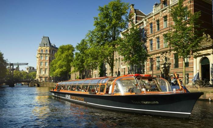 Rondvaart voor 2 personen in Amsterdam (60 min.) @Groupon