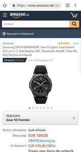 Samsung Gear Galaxy S3 frontier @Amazon.de