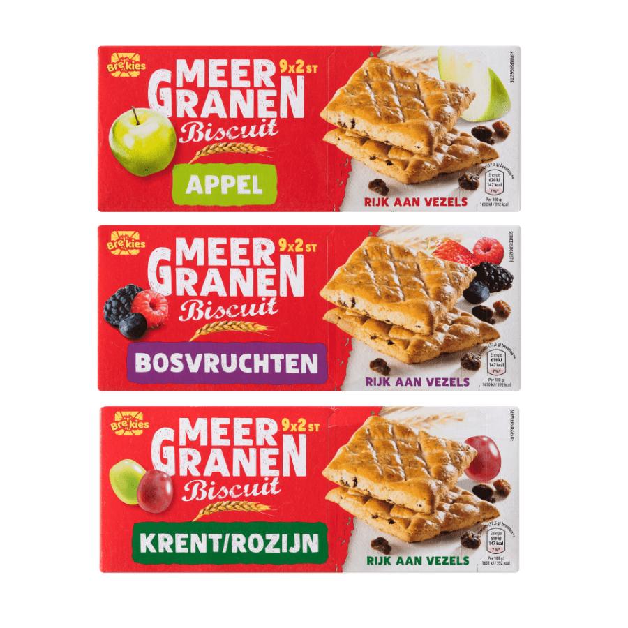 Aldi fruit biscuits 12 pack nu voor 1 euro