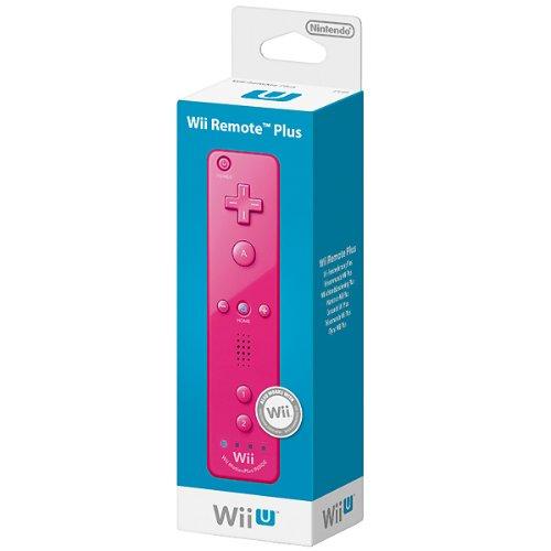 Wii U Remote Plus (Blauw/Roze) voor € 31,42 @ Amazon.it