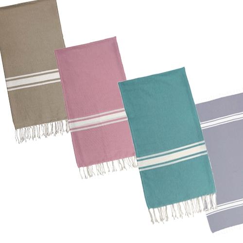 €3 - Hammamdoek in 4 kleuren 1.00 x 1.90 @ KIABI + €2,95 verzending