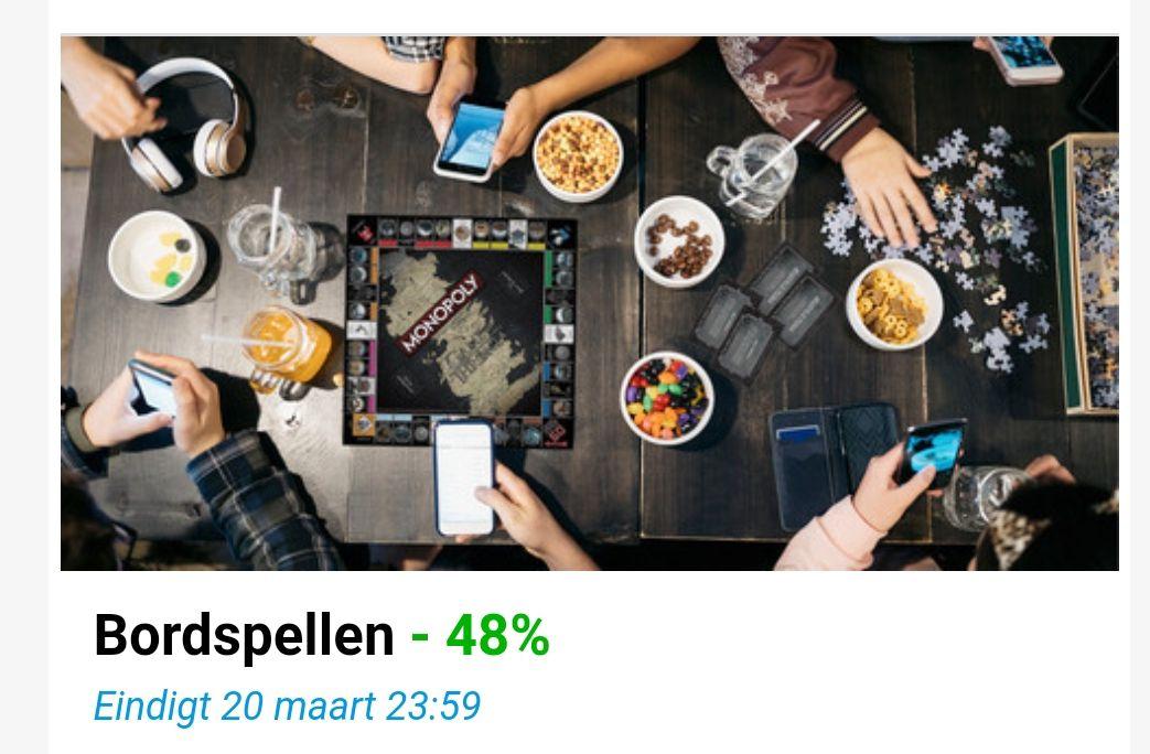 Tot 48% korting op bordspellen bij Ibood