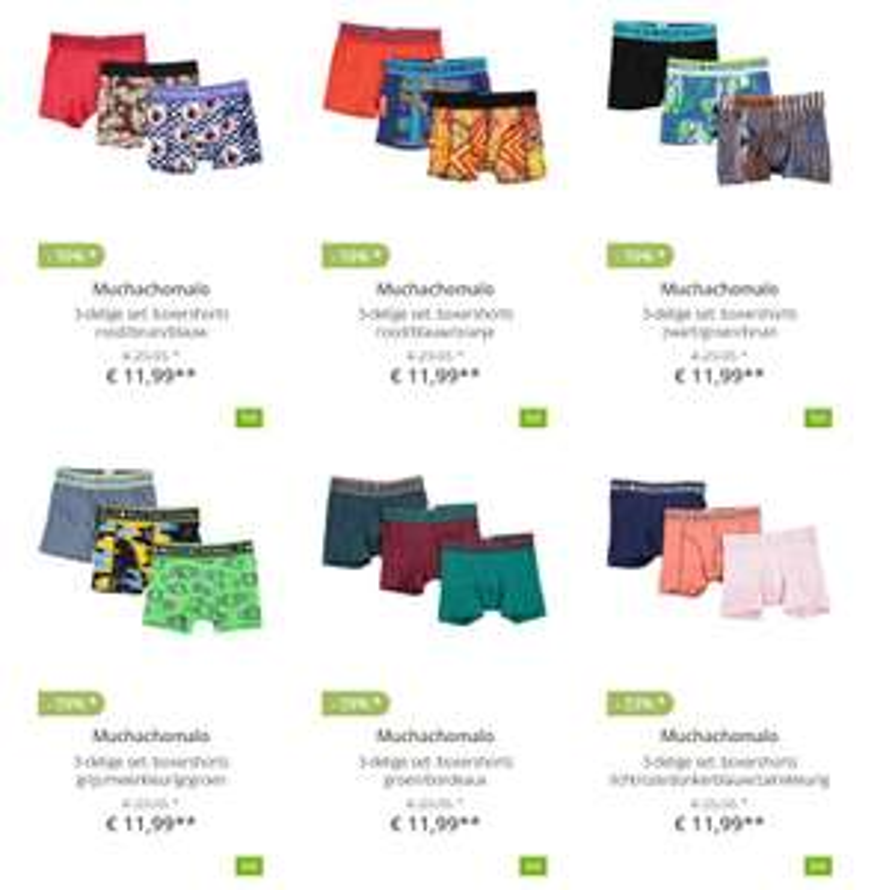Muchachomalo tot 69% korting + €10 extra (va €40) @ Limango
