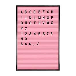 Jay letterbord Roze/ zwart - 45 x 30 cm van 59,95 voor 8,99