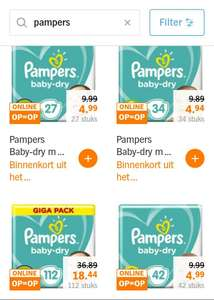 Pampers 50%