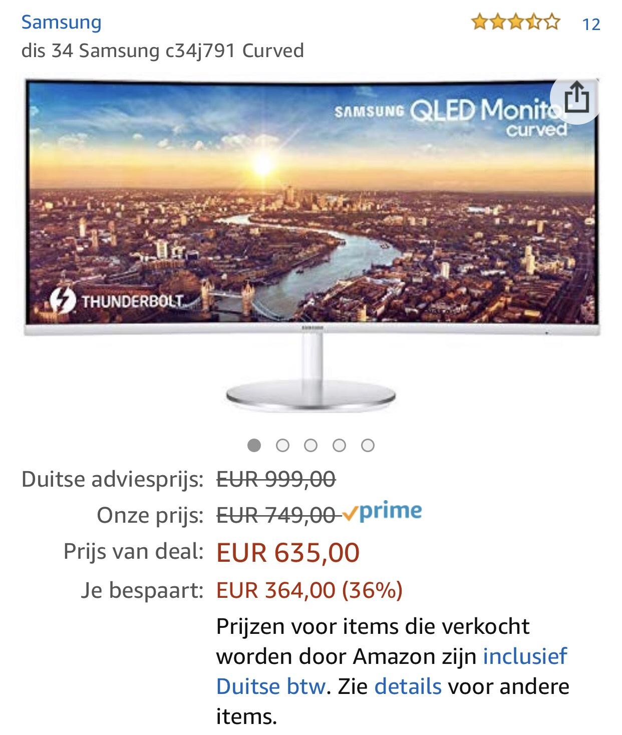 Samsung Qled Ultrawide nieuwe laagste prijs