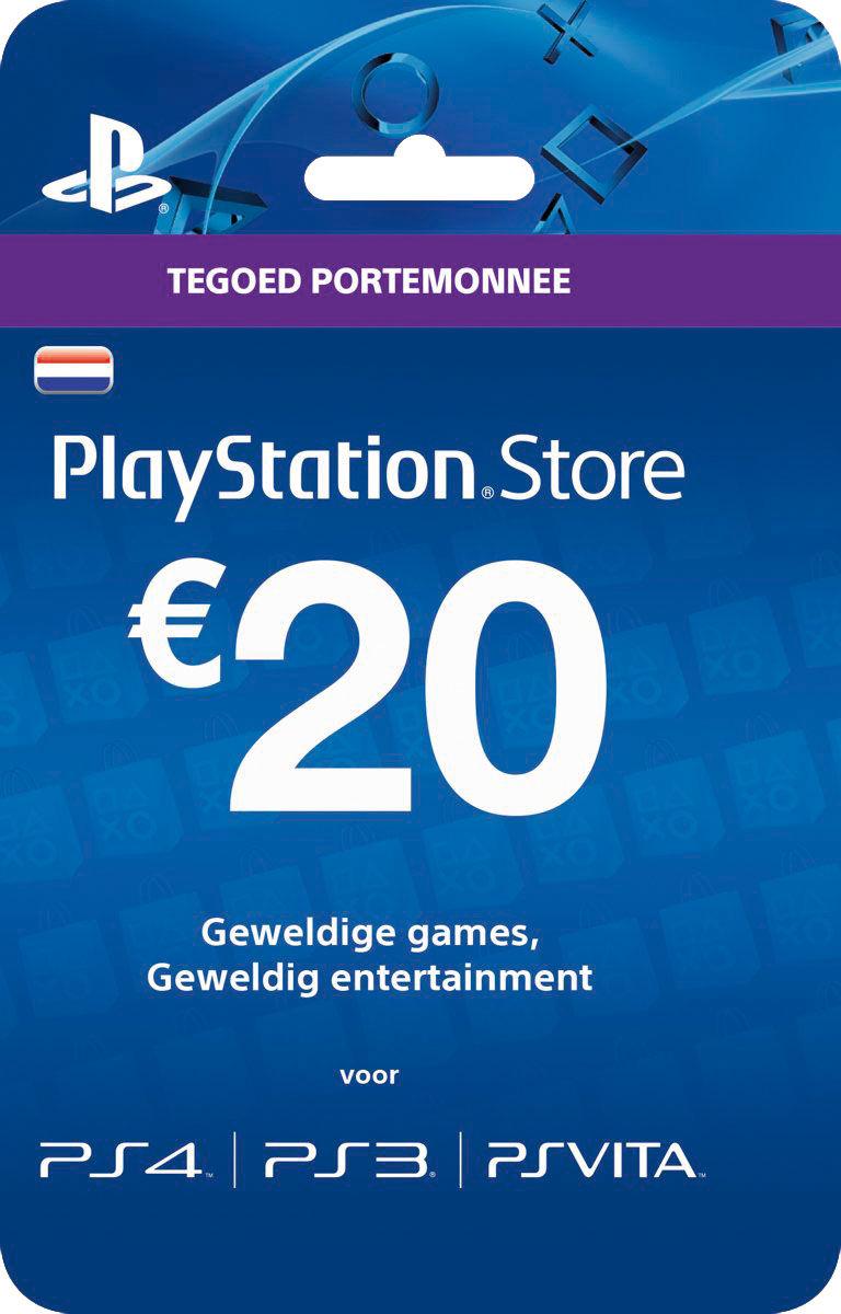 PRIJSFOUT Intersport Playstation cadeaukaart