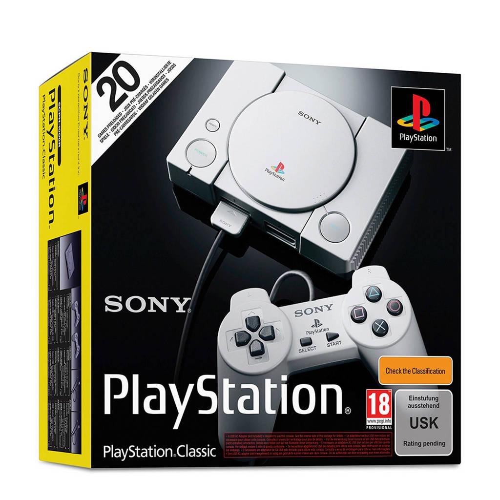 (Wehkamp) Sony mini PlayStation classic console - GOEDKOOPSTE NIEUW IN DOOS OPTIE