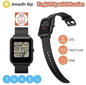 Xiaomi amazfit Bip Lite @aliexpress Spain warehouse