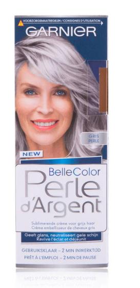 Garnier Nutrisse Perle d'Argent crème haarkleuring - zilvergrijs