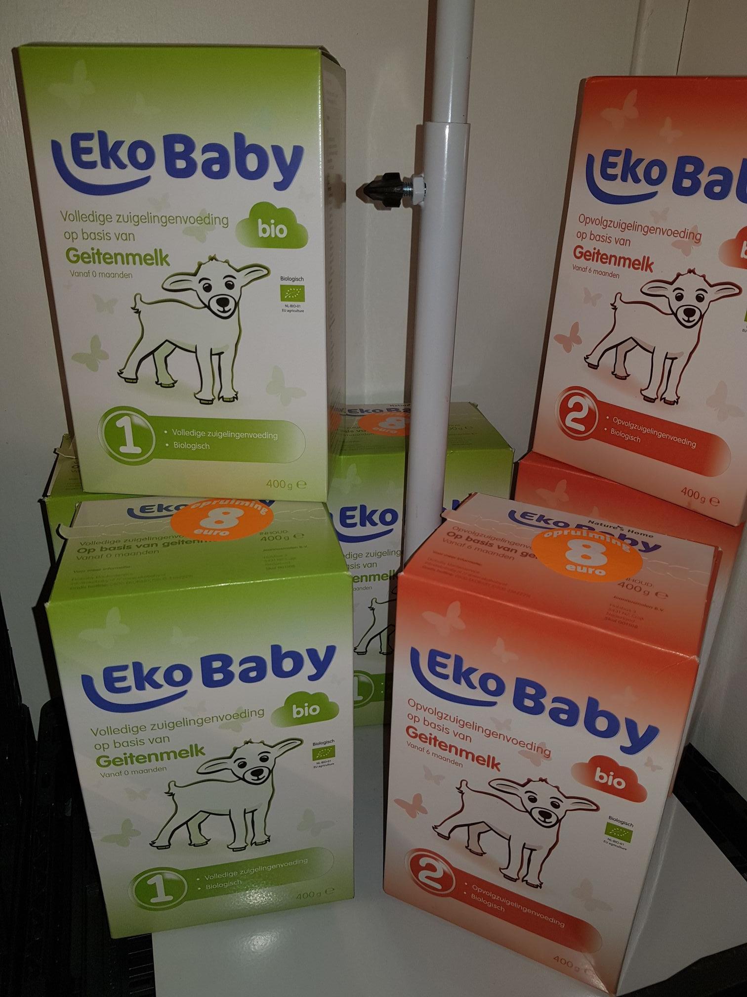 Eko baby geitenmelk nr 1 & 2 (Jumbo Rotterdam Lageland) misschien elder ook