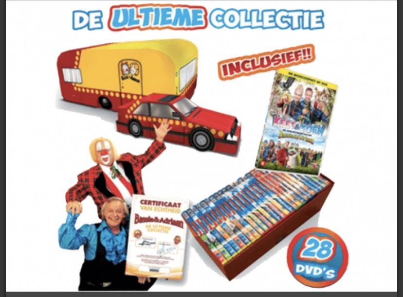 Bassie & Adriaan - De Ultieme Collectie (28 DVD)