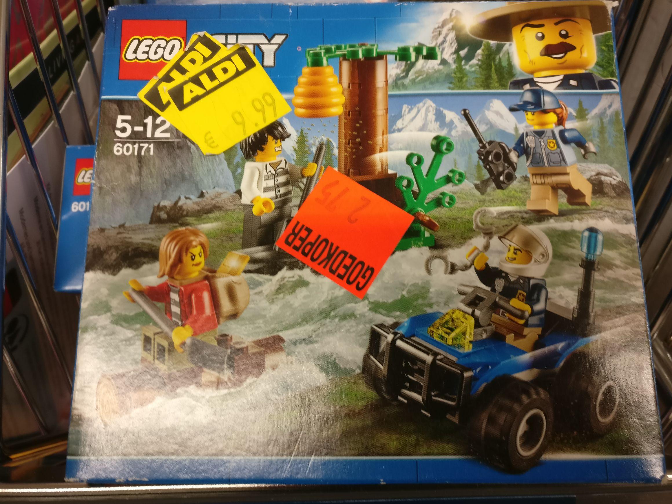 Lego City bouwsetjes bij Aldi Nijmegen (wellicht ook elders)