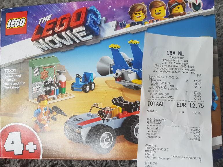 Lego tweede product 50%