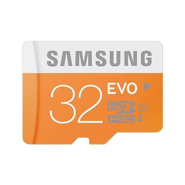 Samsung Evo microSDHC 32GB voor €10,76 @ Wehkamp