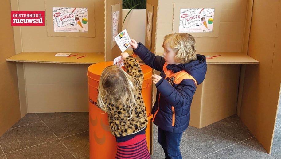 Gratis film (Superjuffie) met gratis ijs wint bij Kinderstembureau [Oosterhout]