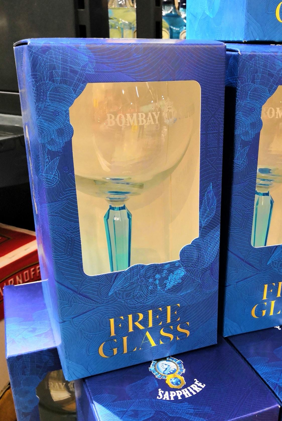 Gratis Bombay Sapphire Gin glas @Makro