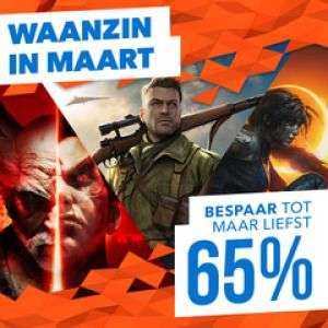 Playstation store: diverse games hoge korting tot 80%