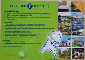 Fletcher hotel overnachting 29.90