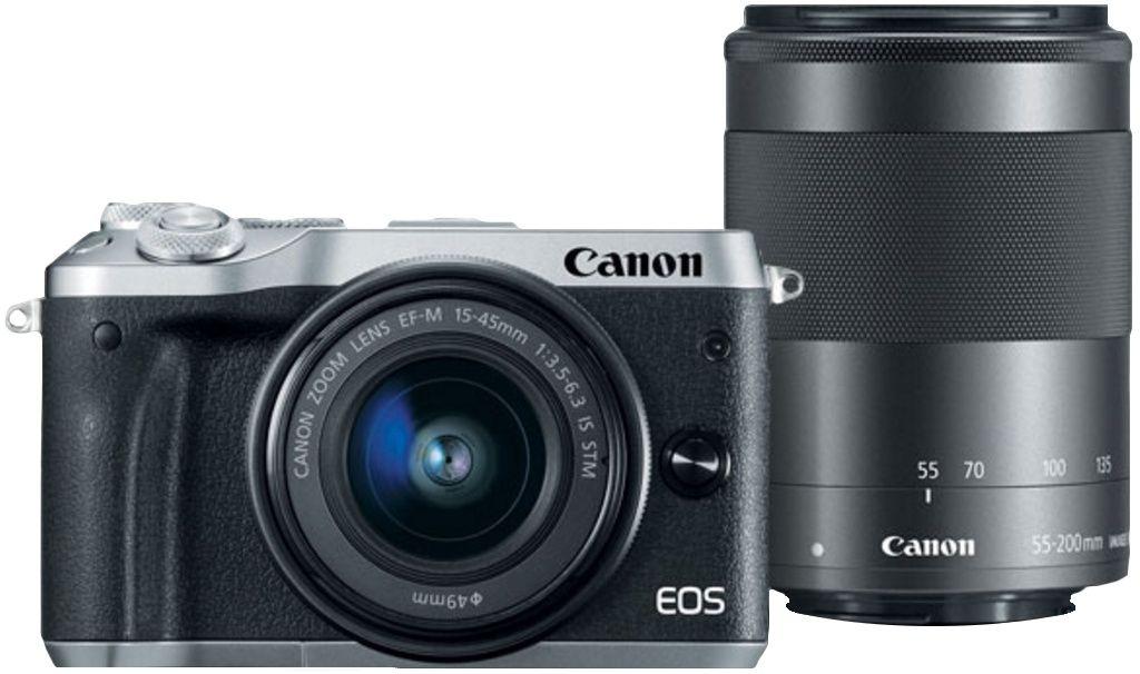 canon eos m6 15-45mm + 55-200mm @bol.com