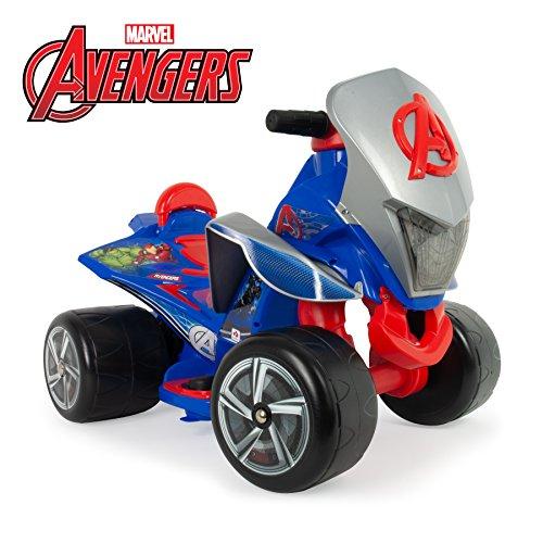 Injusa Quad Quaterback Avengers 6V accuvoertuig voor €41,55 @ Amazon.de