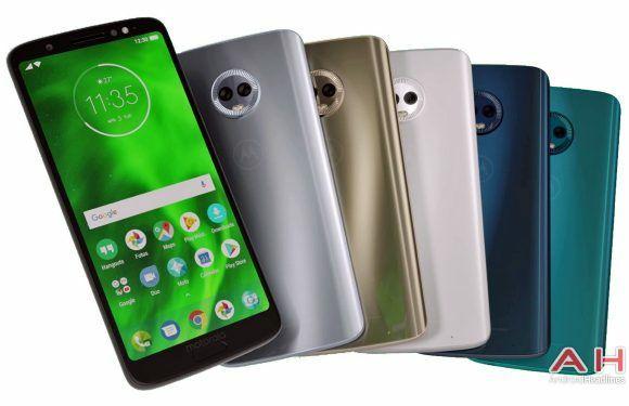 Motorola Moto G6 Plus smartphone