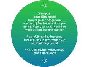 Museumkids gratis met de boot naar het eiland Pampus!