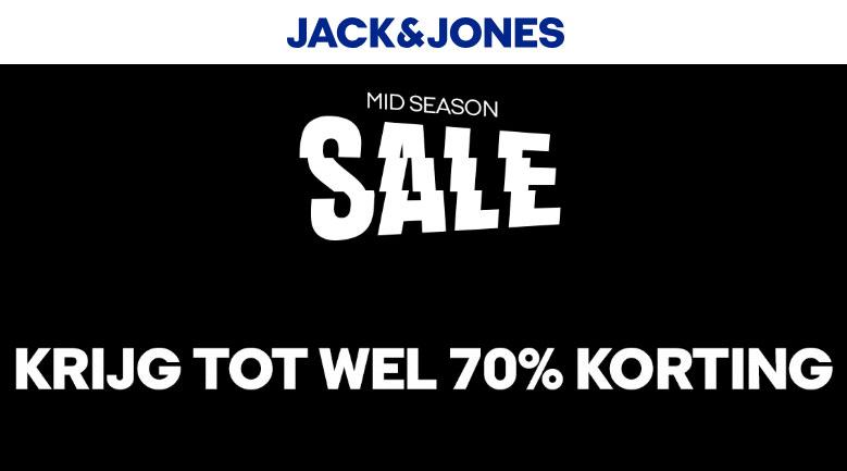 Mid Season SALE tot -70% (oa diverse leren boots) @ Jack & Jones