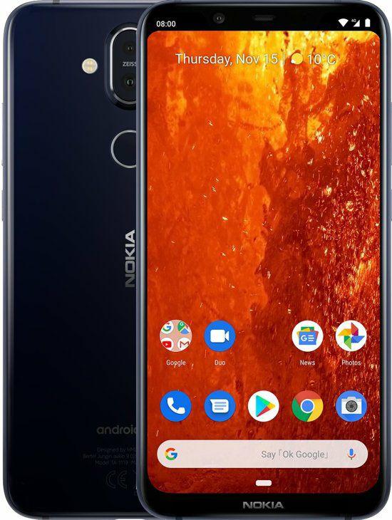 Nokia 8.1 met 15% kassa korting bij Bol.com