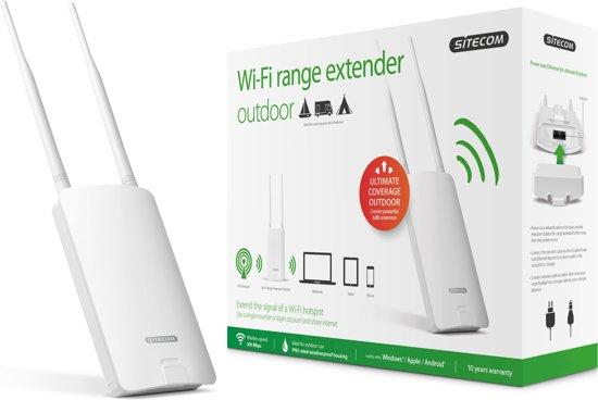 Sitecom N300 Wi-Fi Outdoor Range Extender @ Bol.com