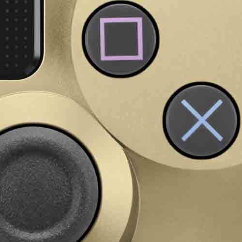 Gouden (en nog 6 kleuren) Dualshock 4 (V2) PS4 controller voor €41,63 (-28% korting) @ Amazon