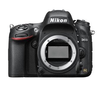 Nikon D610 DSLR Body