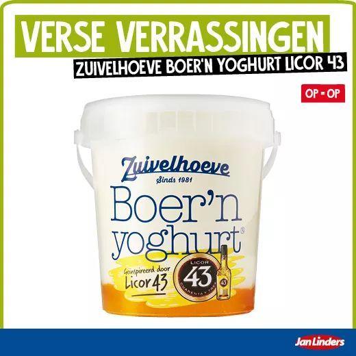 Zuivelhoeve Licor43 yoghurt voor €1,49 bij Jan Linders