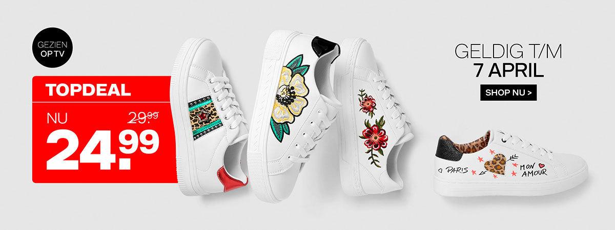Gratis paar schoenen t.w.v. € 29,99 bij Van Haren in Houten