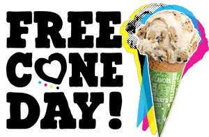 9 april Ben & Jerry's Free Cone Day met gratis ijs @ Ben & Jerry's Rotterdam