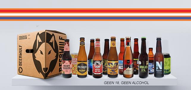 Beerwulf Bijzonder Bierpakket (14 bieren) t.w.v. €34,99 voor €17,50 @Scoupy