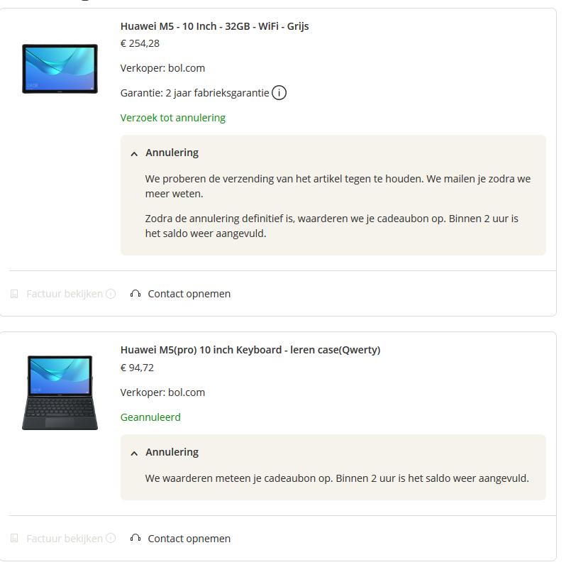 Huawei MediaPad M5 10.8 Grijs