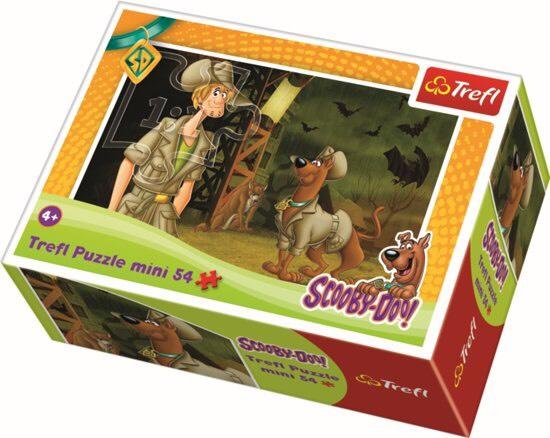 Mini - Dappere Scooby Doo 4 - 54 stukjes Puzzel @ Bol.com