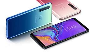 Samsung Galaxy A9 + 128 GB SD-kaart!