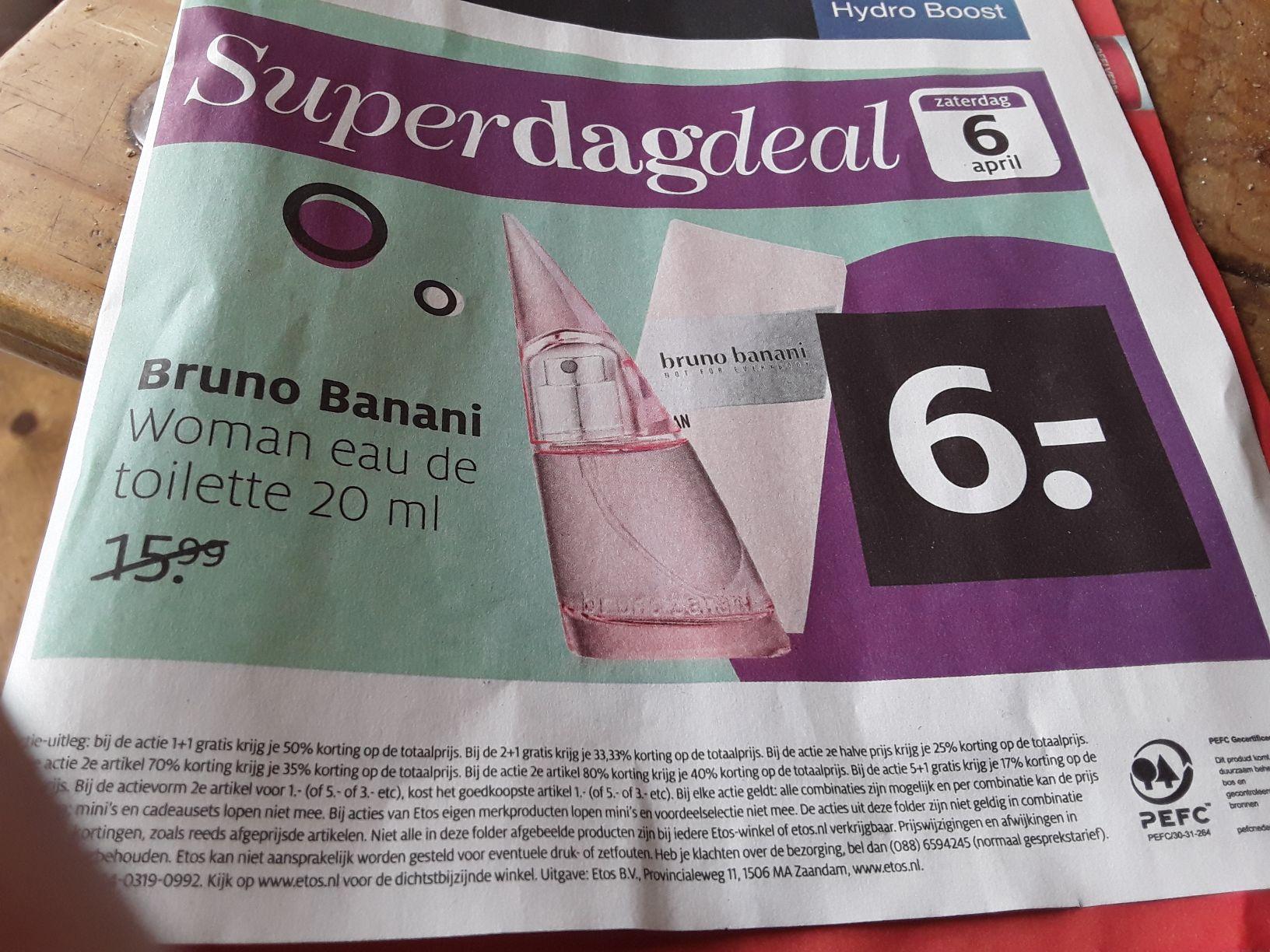 Bruno Banani Woman Eau De Toilette @Etos