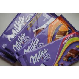 Gratis Milka chocolade tablet @ Koffievoordeel