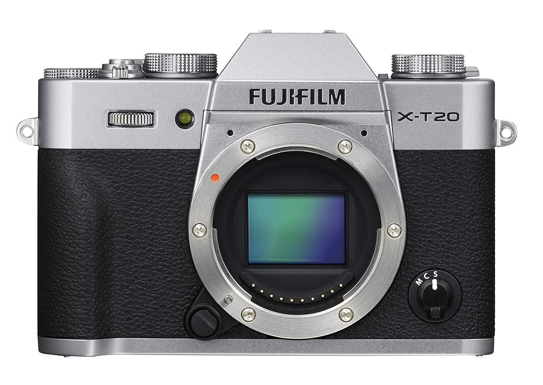 Fujifilm X-T20 Zilver Body (Tweakers beste koop) @Amazon.it