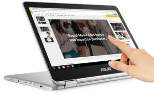 Asus C302 12,5 inch Chromebook/tablet. 8Gb+64Gb. -13% via Asus webshop.