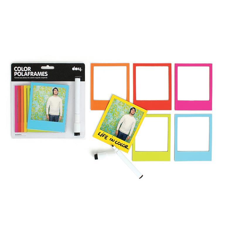 DOIY Multicolor Polarframe Fotomagneten voor €1,95 @ fonQ