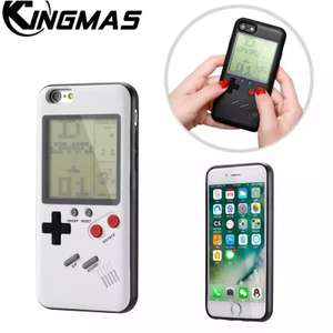 "Werkende ""gameboy"" case voor iPhone"