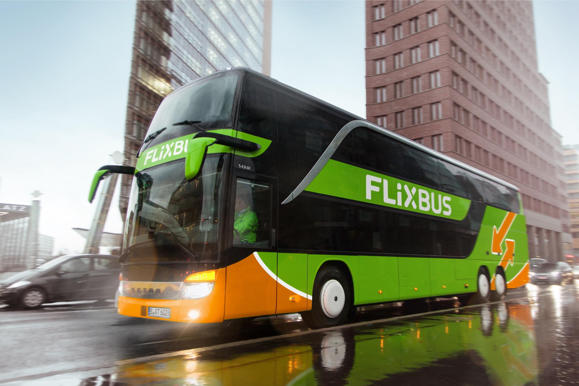 Flixbus Amsterdam - Lille - Parijs €7,98, Amsterdam - Parijs €9,99