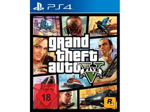 [Grensdeal] Grand Theft Auto V (GTA 5) PS4 @Mediamarkt DE