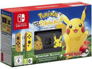[GRENSDEAL] NINTENDO Switch Pokémon - Let's Go Pikachu! Edition