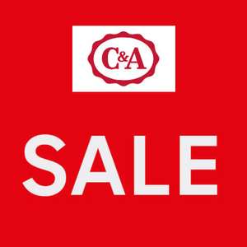 SALE tot -50% + 10% extra + GRATIS verzending @ C&A