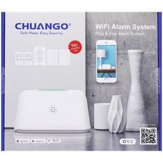 chuango wifi alarm weer bij de action